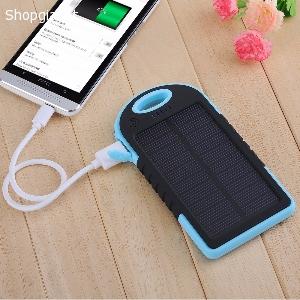 Pin sạc dự phòng năng lượng mặt trời Solar Charger 5000mAh Y